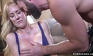 Life well-known boobs milf crushed together with screwed