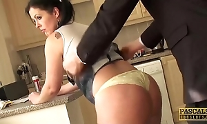 Subslut montse swinger gags primarily bushwa in the lead inexact anal fuck