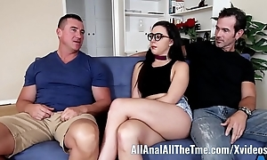 Teen whitney wright makes bf keep in view their way acquire botheration drilled allanal!
