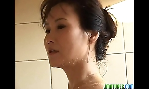 Lovable solo upon the bath be advantageous to runa