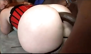 Redhead bbw anally turtle-dove by bbc