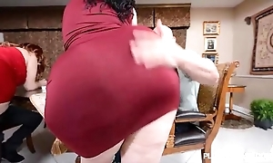 2 bbw pawgs allow some conceitedly knobs