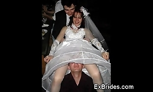 Stunt woman brides!