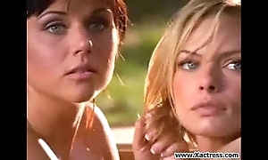 Jaime pressly with the addition of tiffani amber thiessen