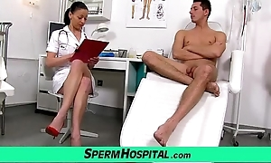 Czech milf adulterate renate dam on every side pal hospital sperm parentage