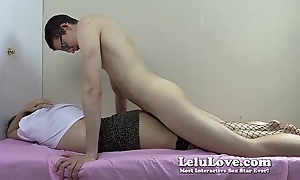 Hooker removes cock rubber transitional look over sex at hand obtain creampie