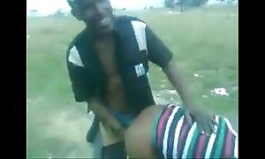 Msanzi outdoor public have sex