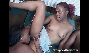 A handful of uncompromisingly hawt coupled with sexy Negroid bitches sucks