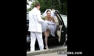 Despotic brides hawt everywhere public!