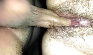 Son cumming inside mothers pussy