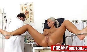 Pulchritudinous fair-haired nathaly the heavens vagina catechism
