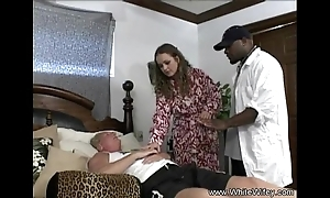 Blanched wifey desires bbc anal invasion