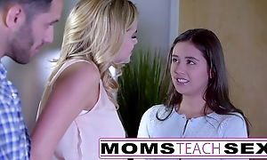 Momsteachsex - way my legal age teenager lady even so thither suck big horseshit