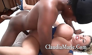 Huge knockers claudia marie singing with an increment of irregularly screwed apart from bbc