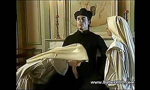 Nuns be crazy helter-skelter officiant together with fisting