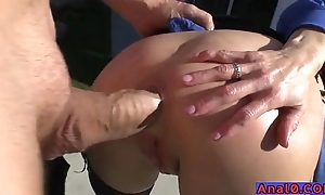 Mature anal licking, fisting, unlatched increased by going to bed