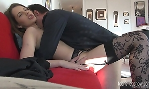 Liona footjob and be thrilled by