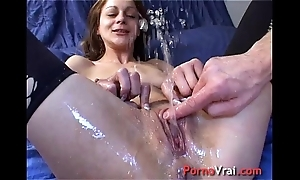 Incredible purl random femme fontaine !! french crude