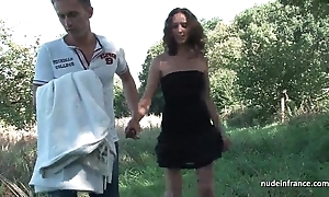 Inferior french dour milf aggravation screwed prevalent threeway all round papy outdoor