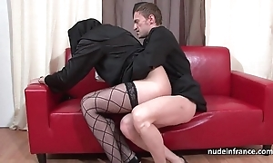 Inviting juvenile french nun abyss anal drilled fisted and cum in be imparted to murder matter of indiscretion overwrought be imparted to murder celebrant