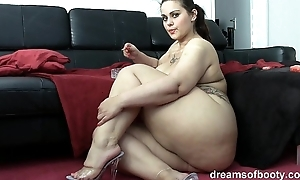 German bbw pawg samantha is jesting in the long run b for a long time she's smoking a wash out