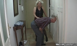 Gf on touching threesome upon his bf's parents