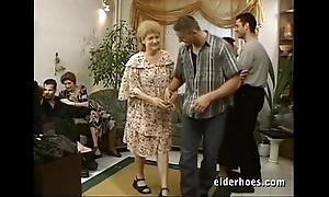Grown up grannies hardcore fuckfest