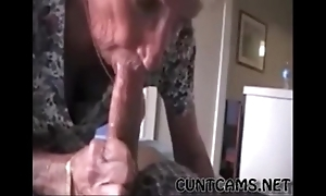Grandmas roommate acquiring fed cum - with reference to at cuntcams.net