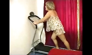 Granny unchanging anal