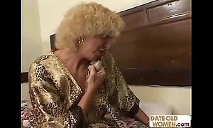 Grandmother shafting juvenile girl