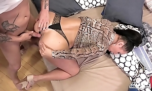 Kinky inlaws - fulminous a bit of butt up russian milf eva ann increased by youthful stepson