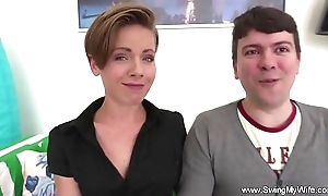 Swinger slutwife can't live without fucking strangers