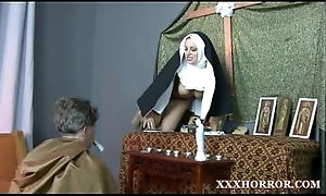 Nun angelica prones say no to ass with chum around with annoy cross