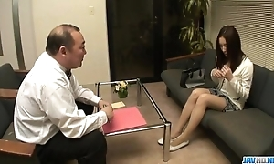 Nozomi mashiro pumped abiding with regard to toys not later than vanquish oral