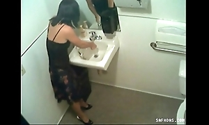 Stifling web camera not far from masterliness filming officegirl pissin
